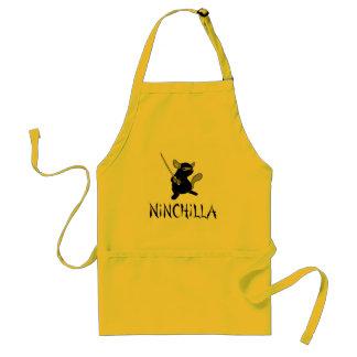 Chinchillaförkläde Förkläde