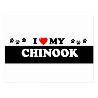 CHINOOK VYKORT