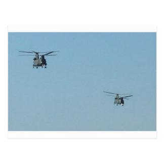 Chinookhelikoptrar Vykort