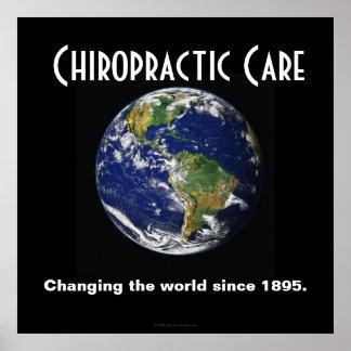 Chiropracticaffisch: Ändra världen efter 1895 Poster