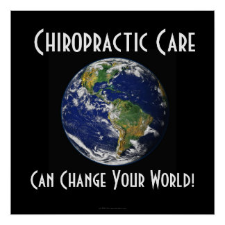 Chiropracticaffisch: Kan ändra ditt STORA STORT Poster