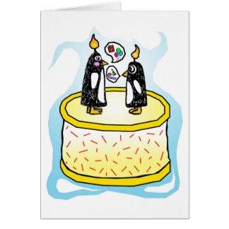Chit- och chattafödelsedagkort OBS kort