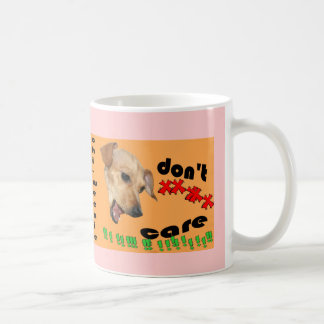 Chiweenie att bry sig inte kaffemugg