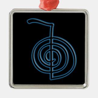 Cho Ku Rei Reiki symbol Julgransprydnad Metall