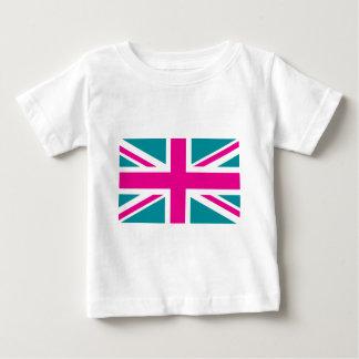 Chocka den brittiska (UK) flagga för den rosa Tröja