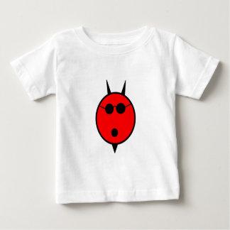 Chockad djävulen skuggar in t shirts