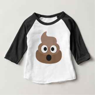Chockad Emoji för superskoj Poop T-shirt