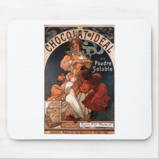 Chocolat ideal av Alphonse Mucha Mus Matta