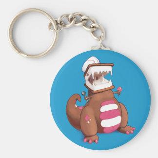 Chocolatey-Rex Rund Nyckelring