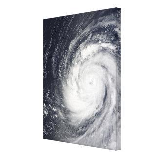 Choi-glåmig toppen Typhoon Canvastryck