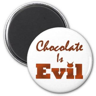 Choklad är den onda rundan magnet