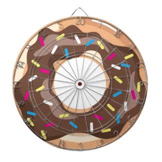 Choklad glasad munk piltavla