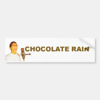 Choklad regnar bildekal