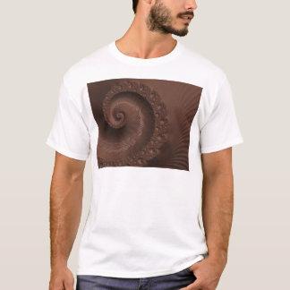 Choklad virvlar runt Fractal T Shirts