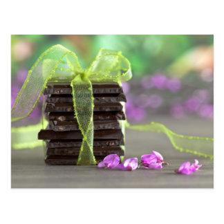 Choklad Vykort