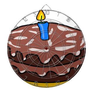 Chokladfödelsedagtårta Piltavla