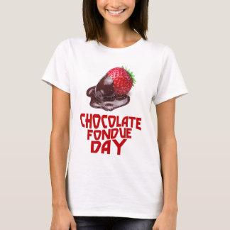 ChokladFonduedag - gillandedag T-shirt
