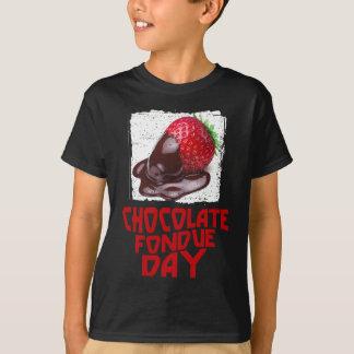 ChokladFonduedag - gillandedag T-shirts