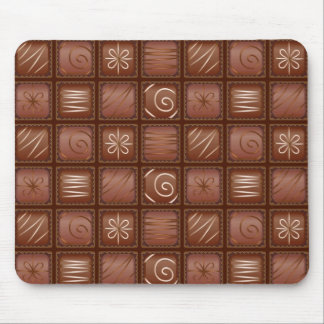 Chokladmönster Mus Matta
