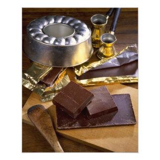 Chokladsammansättning för använda i USA endast.) Fototryck