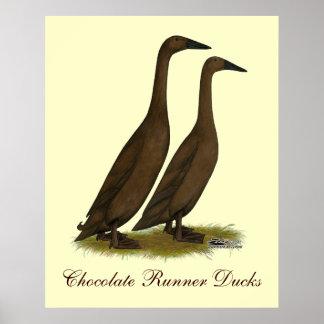 Chokladspringerankor Poster
