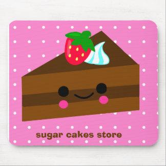 chokladtårtajordgubbe! musmatta