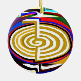 Chokuray Reiki - CHO KU REI Julgransprydnad Keramik