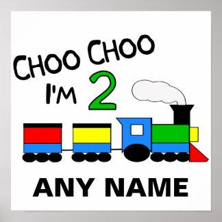 Choo Choo mig förmiddag 2 Med TÅG Affisch