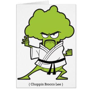 Choppin_Brocco_Lee_Tee Hälsningskort