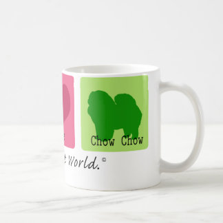 Chow för fredkärlekChow Kaffemugg