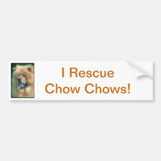 ChowChow Bildekal