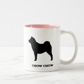 ChowChow (släta), Två-Tonad Mugg
