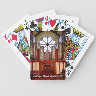 Christchurch leda i rör organ för förstörelse spelkort