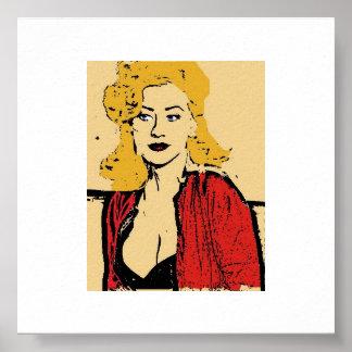 Christina popkonst poster