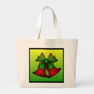 Christmas Bells III Tote Bags