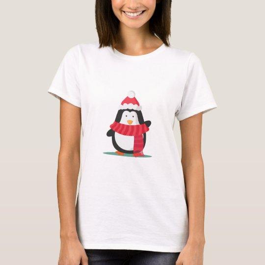 Christmas Penguin Tshirts