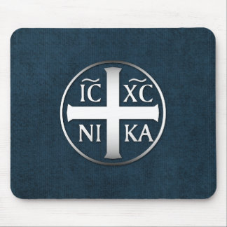 Christogram ICXC NIKA Jesus erövrar Musmatta