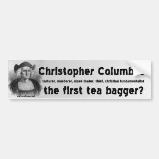 christopher columbus bildekal