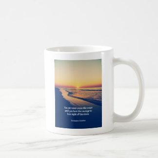 Christopher Columbus citationstecken Kaffemugg