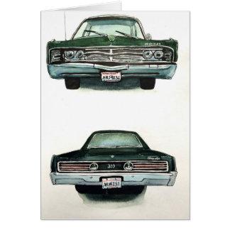 Chrysler 1967 300 hälsningskort