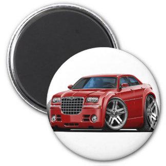 Chrysler 300 rödbrun bil magnet