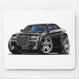 Chrysler 300 svart bil musmatta