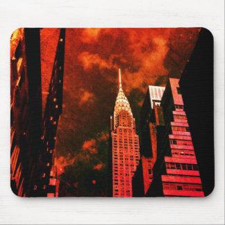 Chrysler byggnad - avlägsen förflutna - New York Musmatta