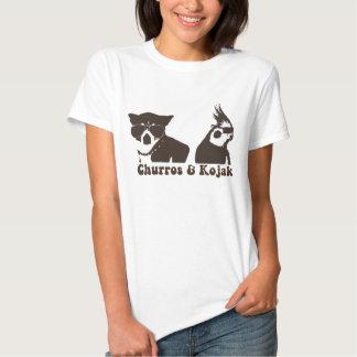 Churros och Kojak Ringer T Tröja