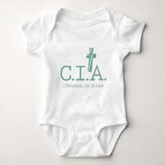 CIA-agenter till lorden Kristen I Åtgärda T-shirts