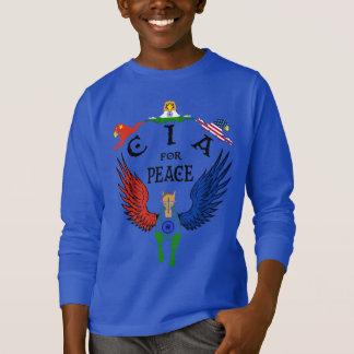 CIA för fred T Shirt