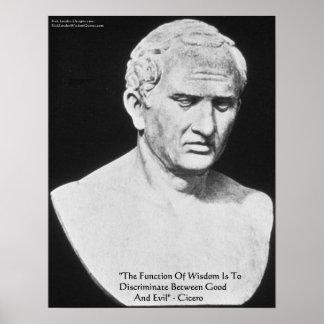 """Cicero """"bra & onda"""" affischer för vishetcitationst"""