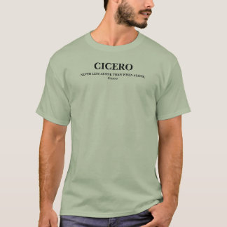 CICERO citationstecken - skjorta Tee Shirt