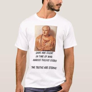 Cicero lagar är silentintid av krig. - Marcus… Tee Shirt