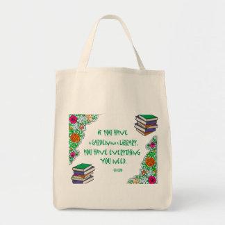 Cicero - om du har en trädgård och ett bibliotek. tygkasse